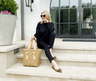 The Simplicity of Black and Tan Fashion Pieces