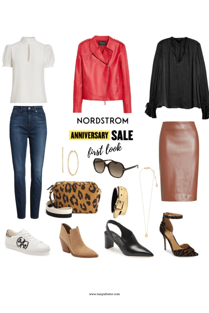 Nordstrom anniversary sale first look collage items