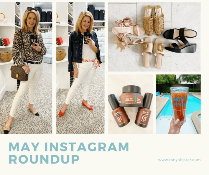 TAnya Foster may instagram roundup photo collage