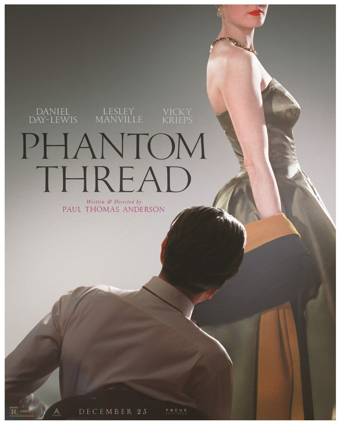 Giveaway to the advance screening of Phantom Thread on TanyaFoster.com