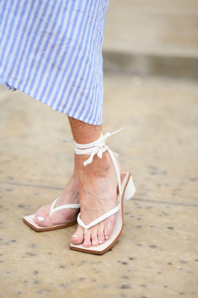 wrap up sandals