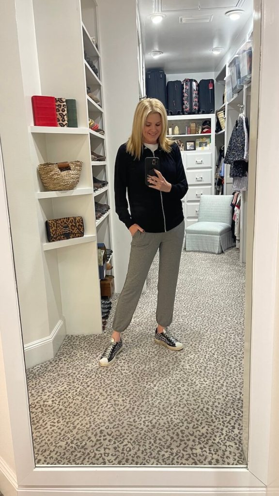 tanya foster in soma loungwear