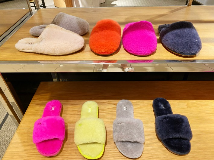 ugg slide slippers in different colors