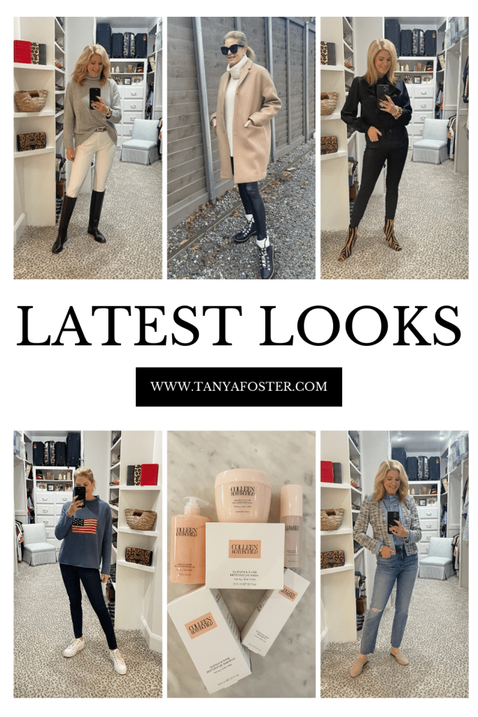 latest looks what I've been wearing lately on tanyafoster.com