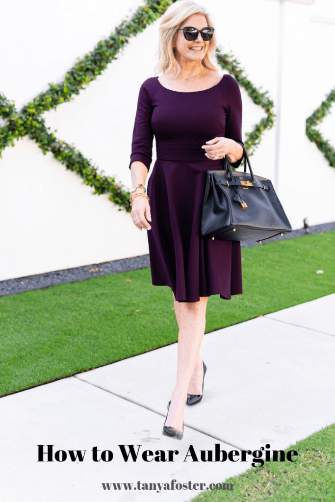 How to wear purple next season