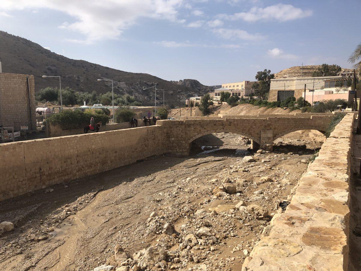 Surviving the heaviest flood in Petra, Jordan