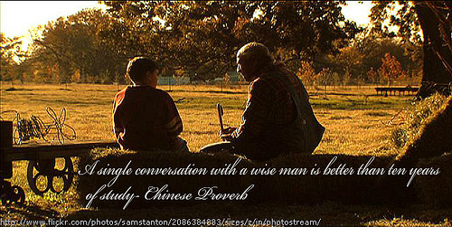 conversation photo
