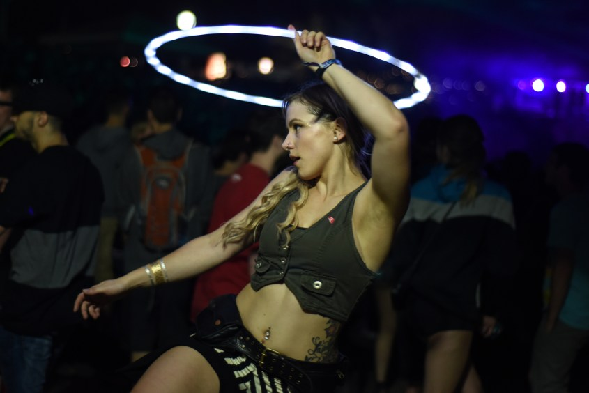 Techno music lovers flocked to Hart Plaza in Downtown Detroit Saturday for the first day of the Movement Electronic Music Festival May 23, 2015. (Tanya Moutzalias | MLive Detroit)