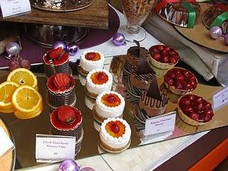 Desserts at Mama Mia