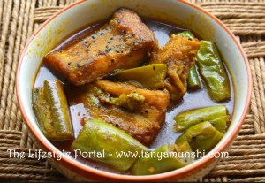 Bengali style fish curry