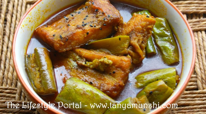 Bengali style fish curry