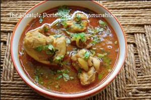Homemade Chicken Curry Bengali Style