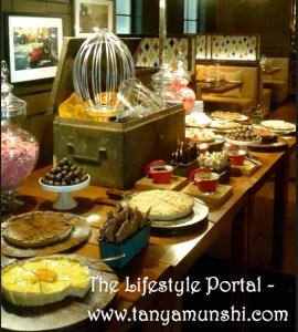 Romano's dessert counter