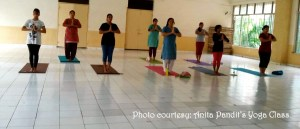 Anita Pandit's Yoga Class3