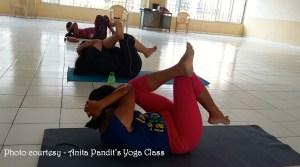 Anita Pandits Yoga Class4