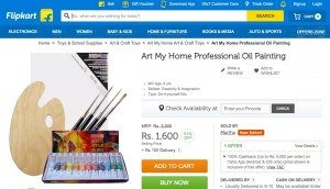 Art My Home Professional Oil Painting by Flipkart2