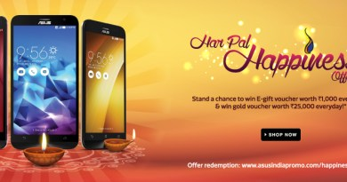 #harpalhappiness offer from Asus Mobile