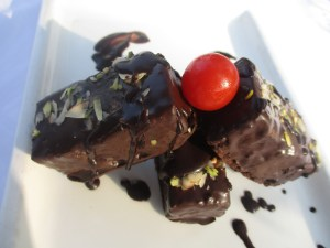 Chocolate Wrapped Brownie_The Resort