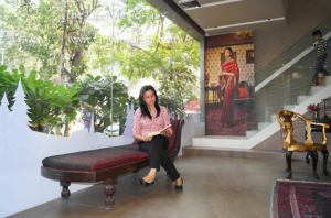 At the Asian Paints Signature Store in Bandra