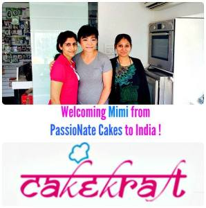 """""""Moving and Musical Cakes"""" Workshop at CakeKraft India"""