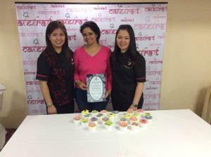 Take up certified cake decorating workshops at Cake Kraft India