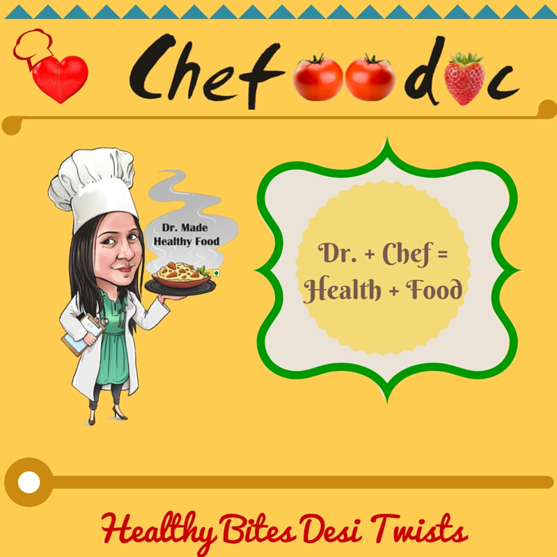 Say hello to Chefoodoc - Your healthier version of Junk Food