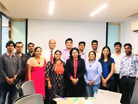 Adv. Ritu Advekar with AMs Realty Pvt. Ltd, Pune.