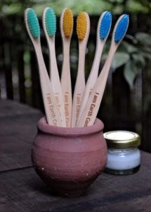 Almitra Sustainables - It's time to switch over to bamboo toothbrushes
