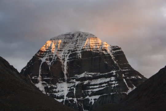 Mesmerising beauty of Mount Kailash in the morning