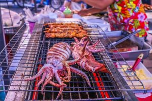 Grilled squids_Werasak