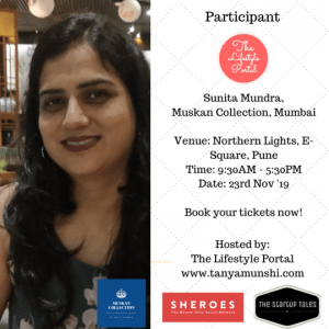 Suntia Mundra, Founder, Muskan Collection