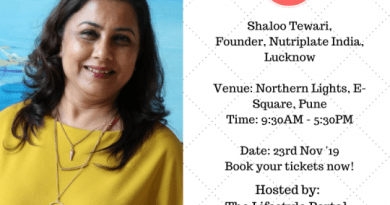 Shaloo Tiware, Co-Founder, Nutriplate India, Lucknow.