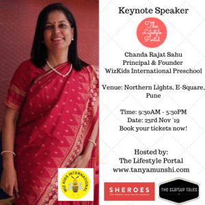 Chanda Rajat Sahu, Principal & Founder, WizKids International