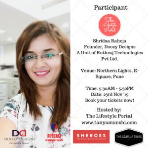 Shridaa Raheja, Interior Designer at Doozy Designs