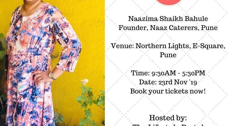 Naazima Shaikh Bahule, Founder, Naaz Caterers