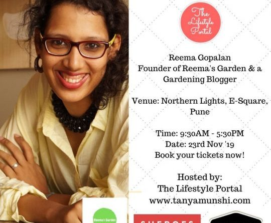 Reema Gopalan, Gardening Blogger & Founder, Reema's Garden