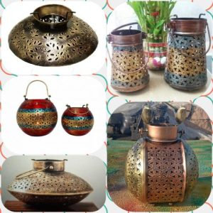Candle holders with a style. Photo courtesy: Truly Tribal