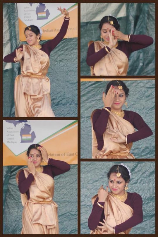 Upasana doing what she does best - dance! Photo courtesy: Upasana M Pal