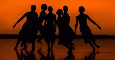 silhouette of people dancing on brown wooden floor