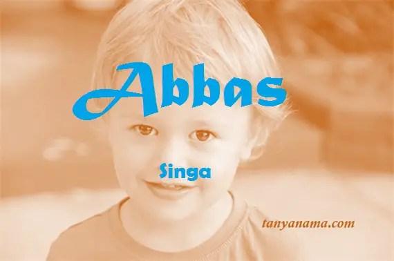 arti nama Abbas