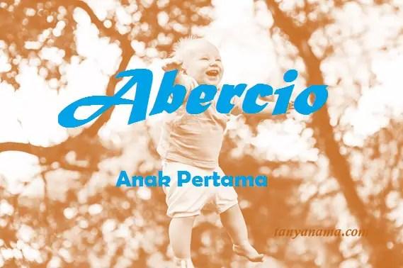 arti nama Abercio