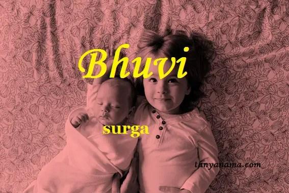 arti nama Bhuvi