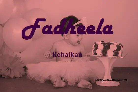 arti nama fadheela