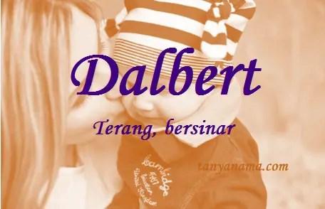 arti nama Dalbert