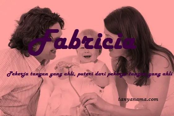 arti nama Fabricia