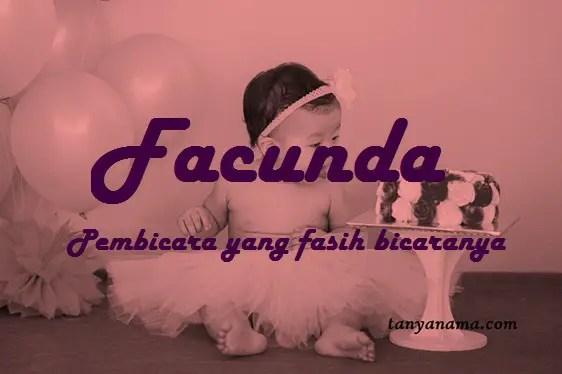 arti nama Facunda