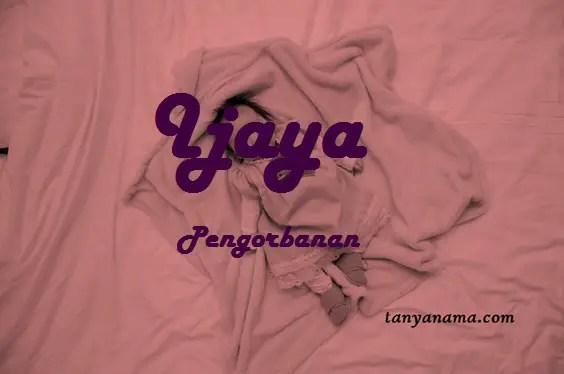 arti nama Ijaya