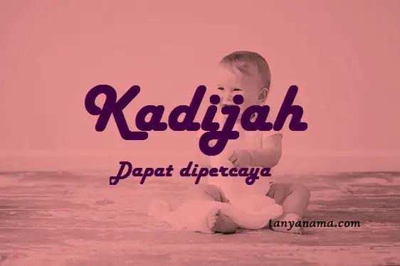 arti nama Kadijah