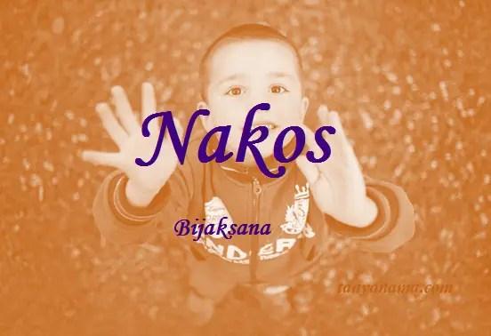 arti nama Nakos