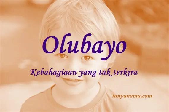 arti nama Olubayo